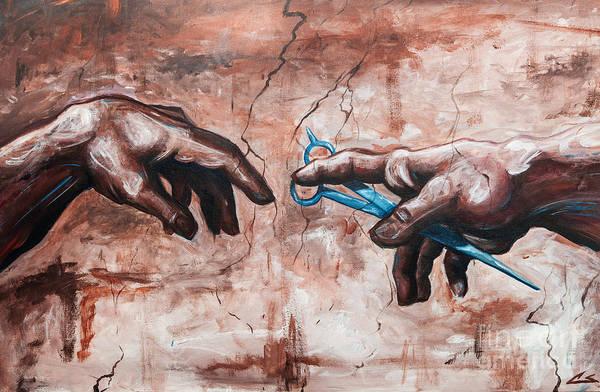 Sistine Wall Art - Painting - 8th Day by Shop Aethetiks