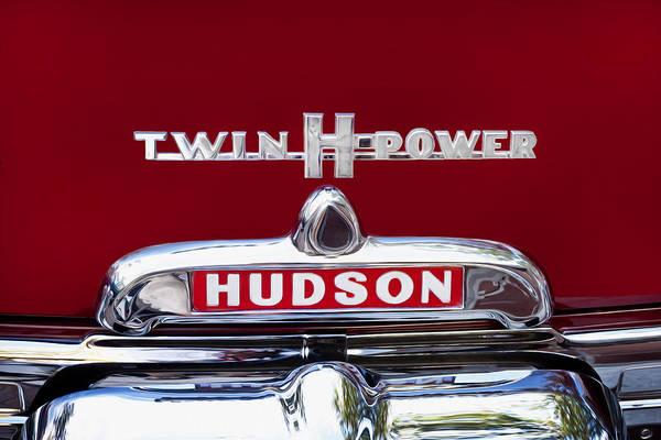 1952 Hudson Hornet Photograph - 1952 Hudson Hornet 4 Door Sedan Twin H Power Painted  by Rich Franco