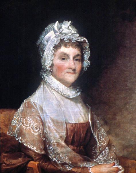 Wall Art - Painting - Abigail Adams (1744-1818) by Granger