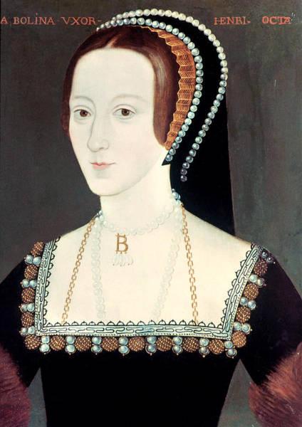 Wall Art - Painting - Anne Boleyn (1507-1536) by Granger