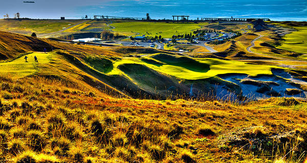 Photograph - #9 At Chambers Bay Golf Course - Location Of The 2015 U.s. Open Tournament by David Patterson