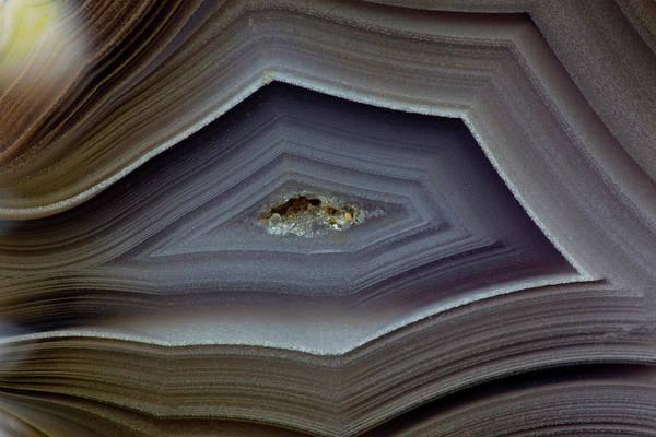 Agate Photograph - Banded Agate, Quartzsite, Az by Darrell Gulin