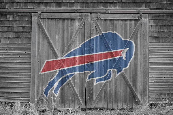 Barn Door Photograph - Buffalo Bills by Joe Hamilton