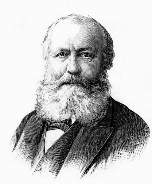Wall Art - Drawing - Charles Gounod  French Musician by Mary Evans Picture Library