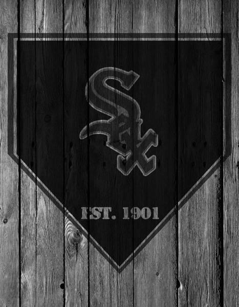 White Barn Photograph - Chicago White Sox by Joe Hamilton