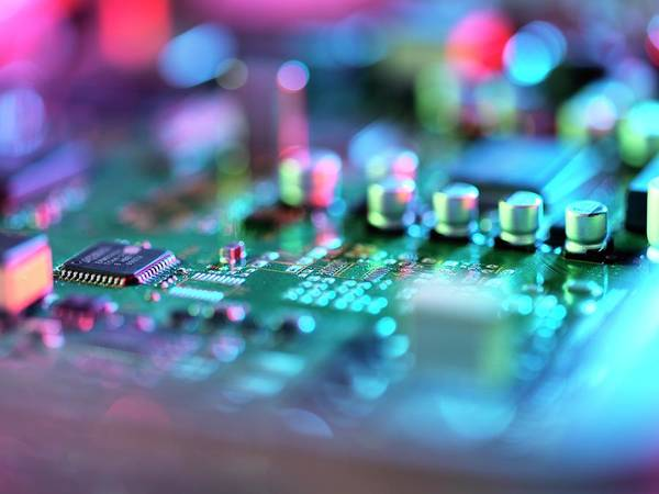 Unit Photograph - Circuit Board by Tek Image/science Photo Library