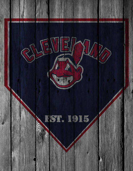 Santa Photograph - Cleveland Indians by Joe Hamilton