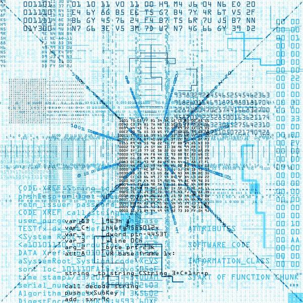 Photograph - Computer Code by Mehau Kulyk/science Photo Library