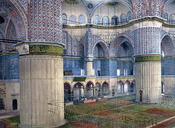 Sultan Ahmet Camii Wall Art - Photograph - Constantinople, C1895 by Granger