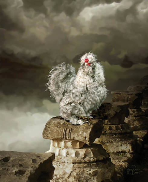Digital Art - 9. Cuckoo Angela by Sigrid Van Dort
