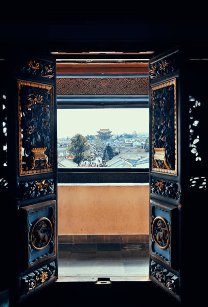 Photograph - Dali Old Town by Songquan Deng