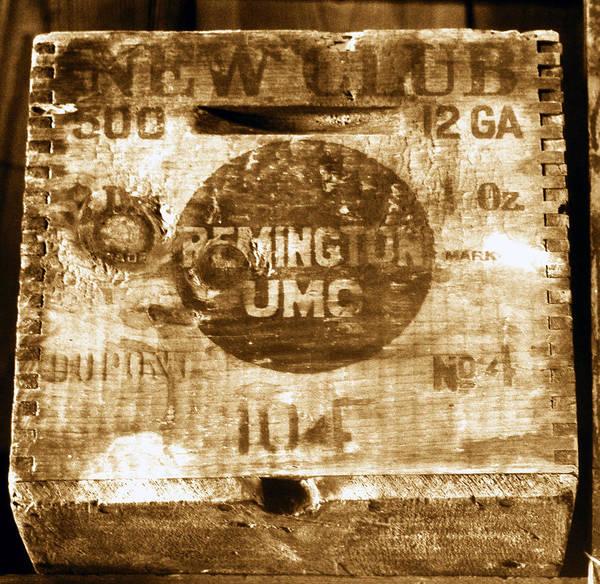 Remington Photograph - Remington Ammo Box by David Lee Thompson