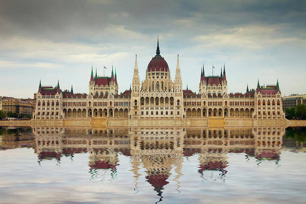 Parliament Building Photograph - Europe, Hungary, Budapest by Jaynes Gallery