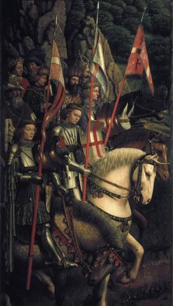 Wall Art - Photograph - Eyck, Jan Van 1390-1441 Eyck, Hubert by Everett