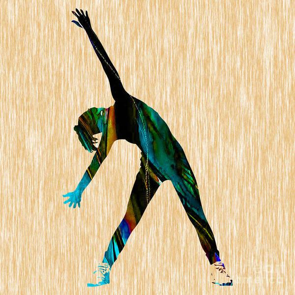 Wall Art - Mixed Media - Fitness by Marvin Blaine