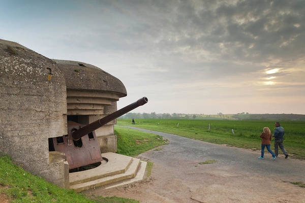 Battery D Photograph - France, Normandy, D-day Beaches Area by Walter Bibikow