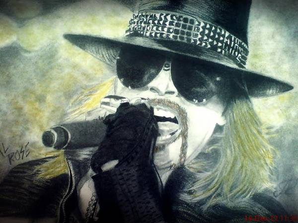 Frontman Wall Art - Drawing - Graphite by Marko Masic
