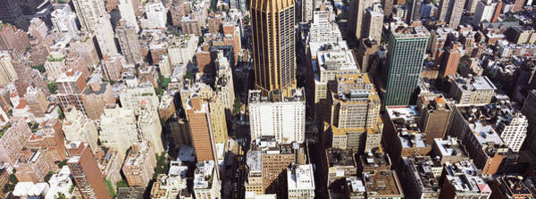 Wall Art - Photograph - High Angle View Of Buildings In A City by Panoramic Images