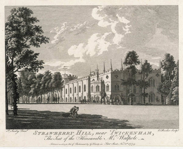 Strawberry Hills Wall Art - Drawing - Horace (horatio) Walpole Fourth Earl by Mary Evans Picture Library