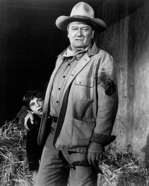 Wall Art - Photograph - John Wayne by Retro Images Archive