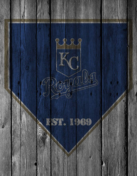 Gloves Photograph - Kansas City Royals by Joe Hamilton
