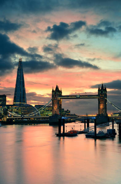 Photograph - London Architecture by Songquan Deng