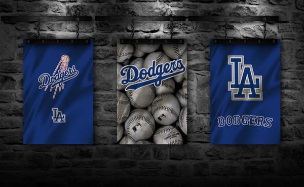 Iphone 4s Wall Art - Photograph - Los Angeles Dodgers by Joe Hamilton