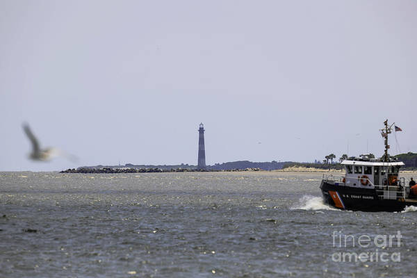 Photograph - Coast Guard by Dale Powell