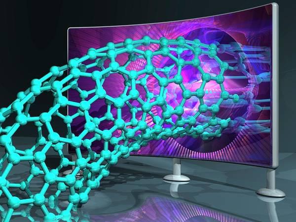 Nano-technology Wall Art - Photograph - Nanotechnology Research by Laguna Design/science Photo Library