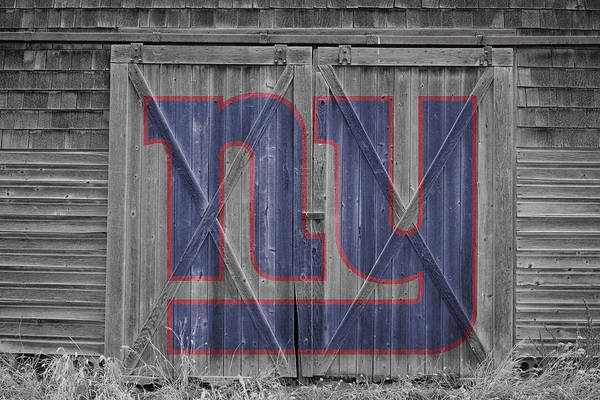 Giant Photograph - New York Giants by Joe Hamilton
