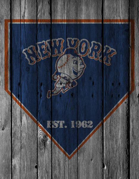 Outfield Wall Art - Photograph - New York Mets by Joe Hamilton