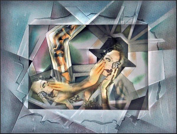 Mixed Media - #9 Nude Traveler by Glenn Bautista