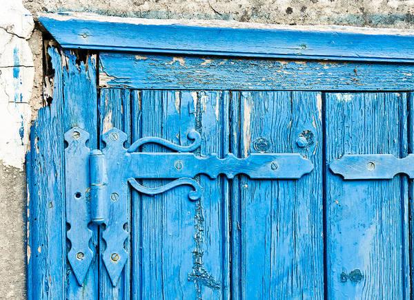 Latch Wall Art - Photograph - Old Door  by Tom Gowanlock