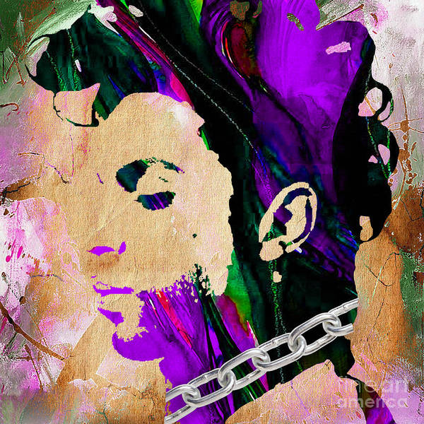 Funk Mixed Media - Prince Collection by Marvin Blaine