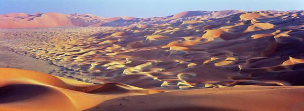 Wall Art - Photograph - Sand Dunes In The Rub Al-khali, United by Martin Zwick