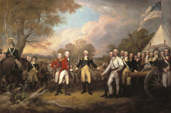 Bemis Photograph - Saratoga: Surrender, 1777 by Granger