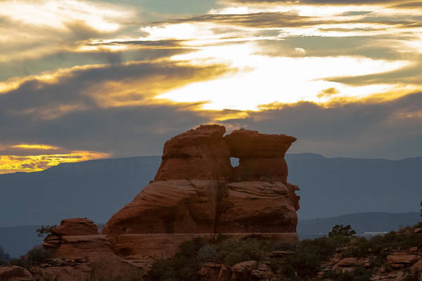 Photograph - Sedona Sunset by Steven Lapkin