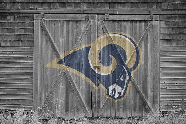 Wall Art - Photograph - St Louis Rams by Joe Hamilton