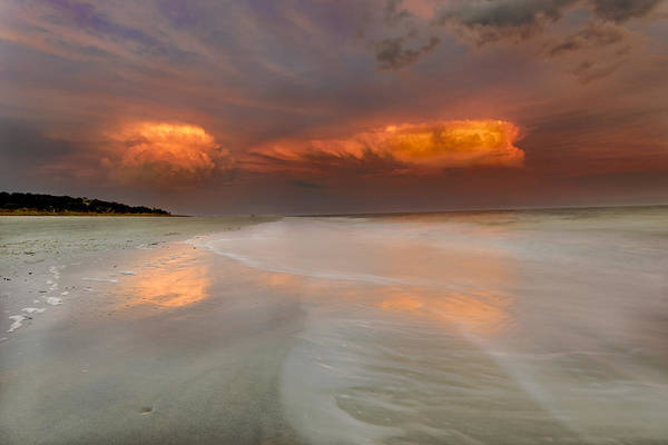 Photograph - Sunset On Hilton Head Island by Peter Lakomy