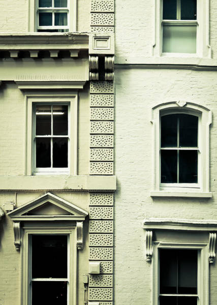 Multi-storey Wall Art - Photograph - Town Houses by Tom Gowanlock