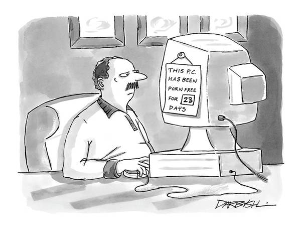 Internet Drawing - New Yorker June 27th, 2005 by C. Covert Darbyshire