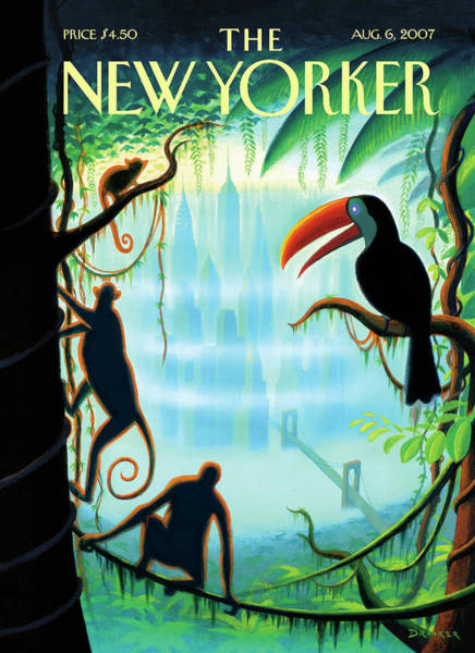 New Yorker August 6th, 2007 Art Print by Eric Drooker