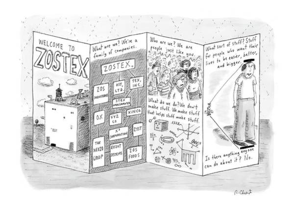 Call Drawing - New Yorker August 21st, 2006 by Roz Chast