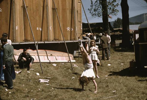 Rutland Photograph - Vermont State Fair, 1941 by Granger