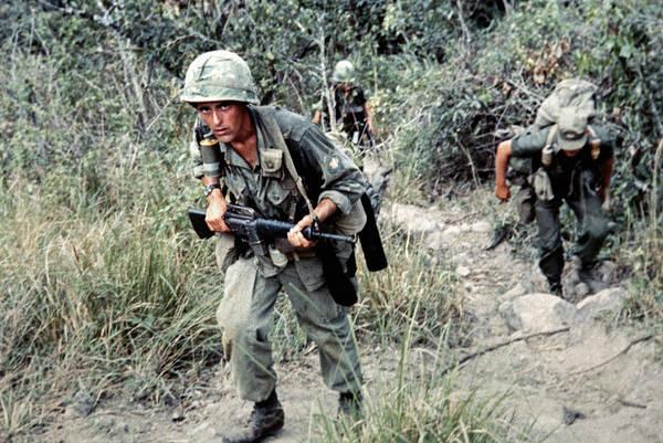 Wall Art - Photograph - Vietnam War, 1966 by Granger