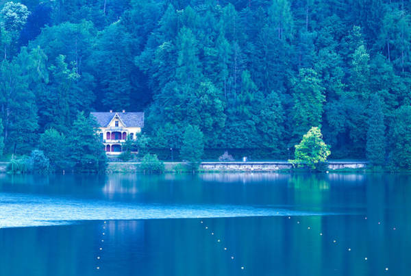 Wall Art - Photograph - View Across Lake Bled by Ian Middleton