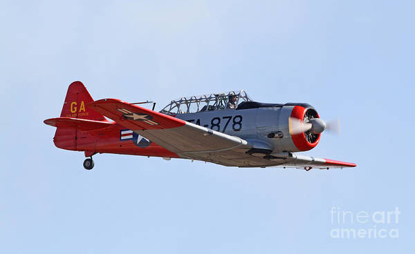 Photograph - Vintage World War II Aircraft by Kevin McCarthy