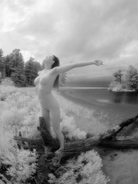Photograph - 9044 Beautiful Nude Woman Free In Nature  by Chris Maher