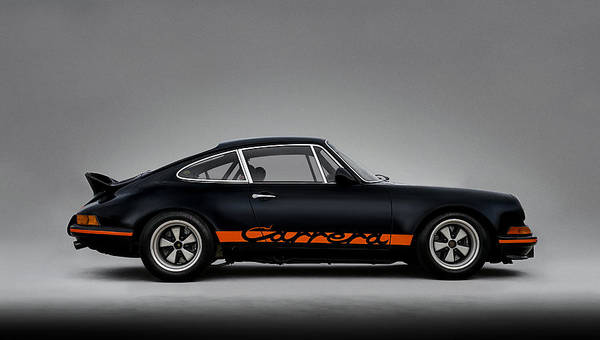 Wall Art - Digital Art - 911 Carrera Rsr by Douglas Pittman