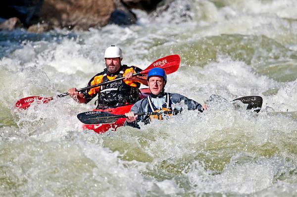 David Weber Photograph - Kayaking by Elijah Weber